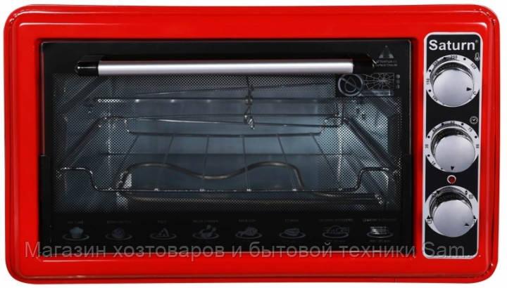 Электрическая печь SATURN ST-EC1076 Red 36 литров