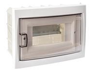 Бокс для автоматических выключателей (восьмиместный для скрытой установки с дверцей)