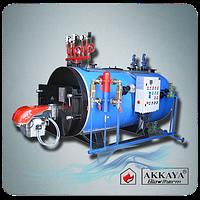 Паровой газовый  цилиндрический котел Akkaya КВВ 100-4