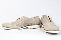 Мужские замшевые летние туфли Romeo Gigli 44