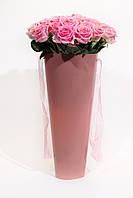 Конус для цветов флористический с ручками