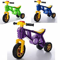 Детский ролоцикл - каталка (беговел) от ТМ Orion, 3 колеса.