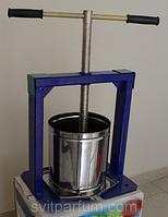 Ручной пресс для отжима сока из нержавеки Виллен (25 литров) DI