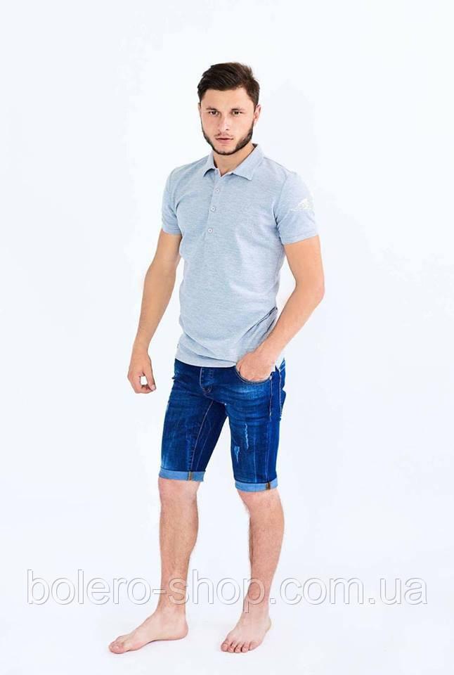 Мужские джинсовые шорты Givenchy синие 31.33.34