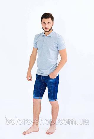Мужские джинсовые шорты Givenchy синие 31.33.34, фото 2