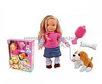 Кукла функциональная Toy Land со щенком 0813K-6