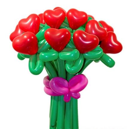 """Букет """"Любовь"""" 17 цветков"""