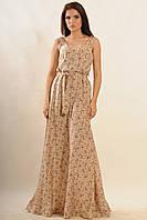 Очень красивое женское платье сарафан с юбкой в пол