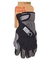 Перчатки Green Cycle NC-2582-2015 Winter с закрытыми пальцами L черно-серые