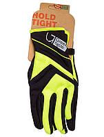 Перчатки Green Cycle NC-2576-2015 WindStop с закрытыми пальцами M черно-зеленые