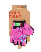 Перчатки Green Cycle NC-2338-2014 Kids без пальцев XL розовые