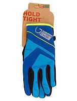Перчатки Green Cycle NC-2576-2015 WindStop с закрытыми пальцами M синие