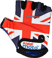 Перчатки детские Kiddi Moto британский флаг, размер М на возраст 4-7 лет