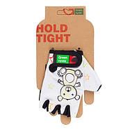 Перчатки Green Cycle NC-2532-2015 Kids без пальцев XL белые