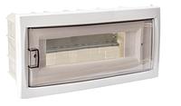 Бокс для автоматических выключателей (12-местный скрытой установки с дверцей)