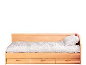 Кровать 1сп Вояж (б/матраса ) (ТМ Свiт Меблiв)