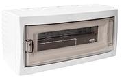Бокс для автоматических выключателей (12-местный открытой установки с дверцей)