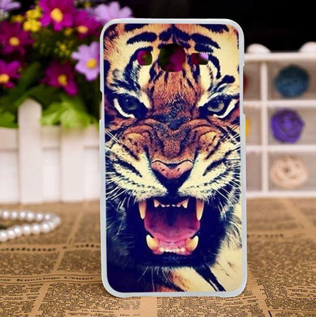 Чехол для Samsung Galaxy J510 J5 2016 с картинкой - Тигр