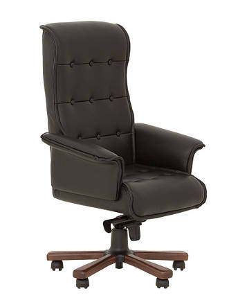 Кресло Luxus-В кожа Lux черная (Новый Стиль ТМ), фото 2