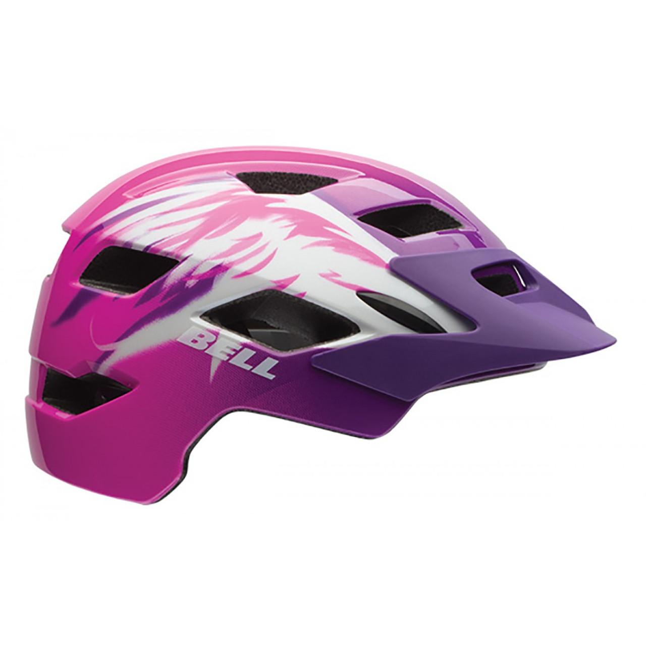 Велошлем подростковый Bell Sidetrack Youth розовый Raven, Uni (50-57) (GT)