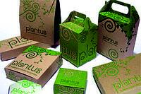 Изготовление картонных коробок с вашим логотипом