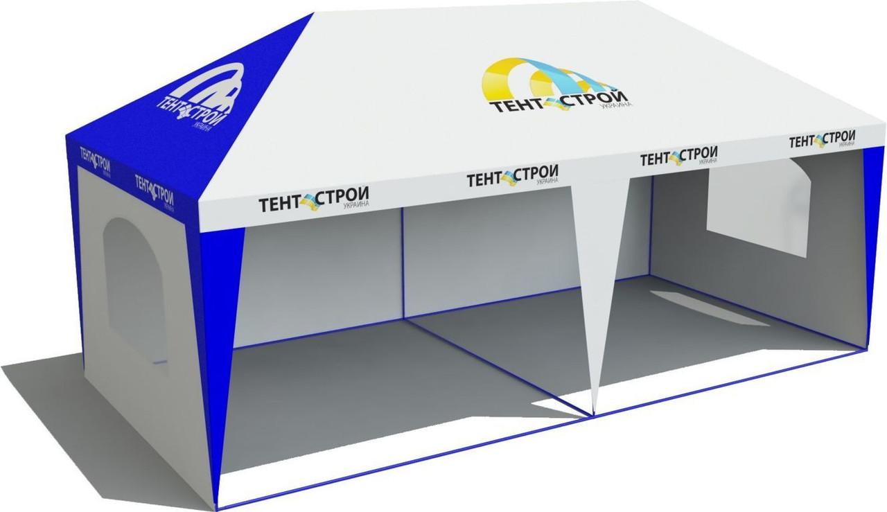 Палатка ПВХ 6х3 м стены