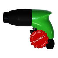 Пневматический ударный пистолет, пневмомолоток, ручной пневмопистолет BAVARIA GS45F (зелёный) для скульпторов