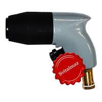 Пневматический ударный пистолет, пневмомолоток, ручной пневмопистолет BAVARIA GS40 (серый) для скульпторов и г