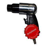 Пневматический ударный пистолет, пневмомолоток, ручной пневмопистолет Blow (серый) для скульпторов и гравёров