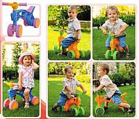 Детский ролоцикл - каталка (беговел) от ТМ ТехноК, 4 колеса.