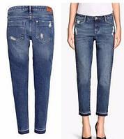 Женские джинсы бойфренды H&M