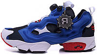 Женские кроссовки Reebok Insta Pump Fury Tetra Blue Red, рибок памп