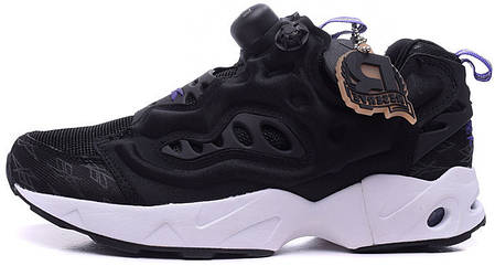 Женские кроссовки Reebok Insta Pump Fury Road Black M49001, Рибок Инстапамп, фото 2