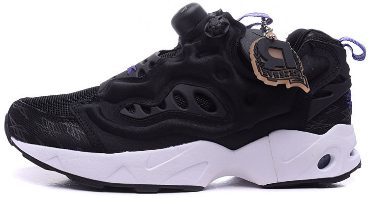 Женские кроссовки Reebok Insta Pump Fury Road Black M49001, Рибок Инстапамп