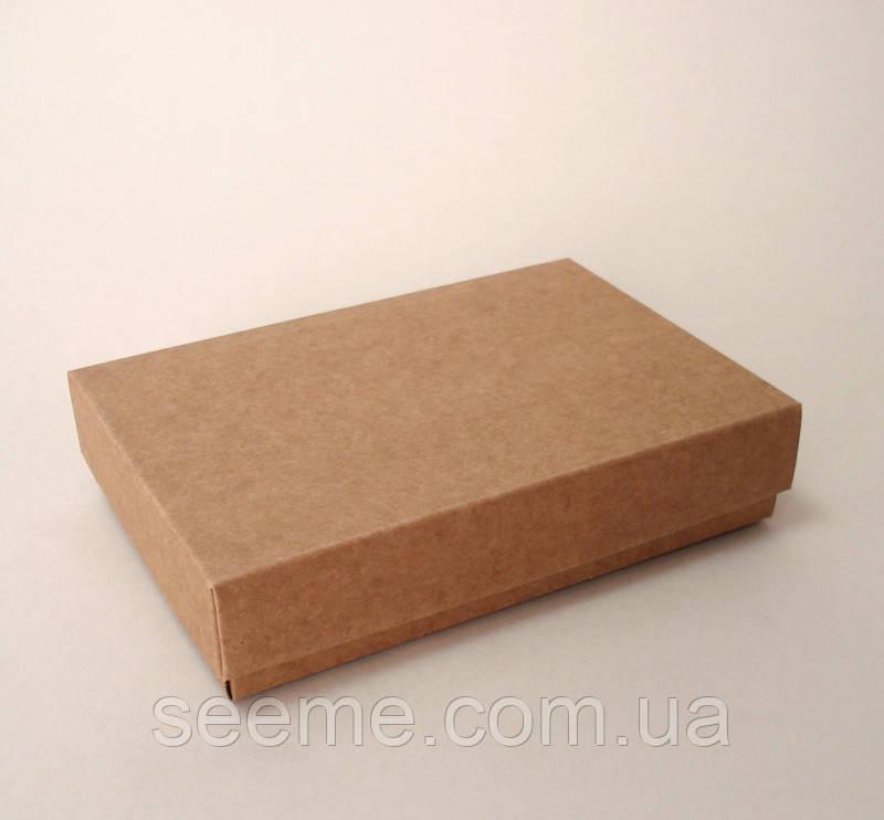 Коробка подарочная из крафт картона, 155x105x35 мм.