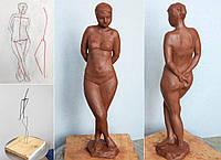 """Набор на  курс по скульптуре """"От рисунка до воплощения""""."""
