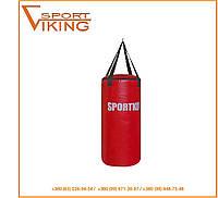 Мешок боксёрский ПВХ вес 20 кг груша боксерская на ремнях