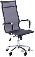 Кресло Слим-Net HB (мех. TL) (Сетка черная)