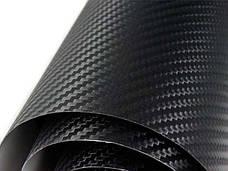 Карбоновая пленка 3D карбон 127*30 см. Черный, Белый, Серебро, Золотой, Красный, Синий,Оранжевый,Зел, фото 2