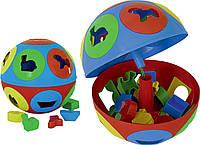 Развивающая игрушка сортер Розумний малюк Колобок ТехноК 2926