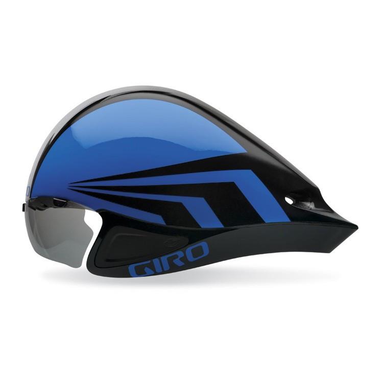 Велошлем с визором Giro Selector синий/чёрный (GT)