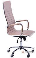 Кресло Слим-HB (мех. TL) (PU беж)
