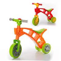 Детский ролоцикл - каталка (беговел) от ТМ ТехноК, 3 колеса.