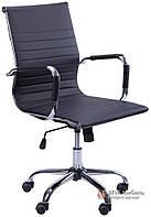 Кресло Слим-LB (мех. TL) (PU черный)