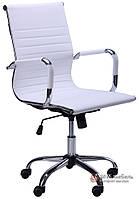 Кресло Слим-LB (мех. TL) (PU белый)