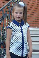 Блузка детская с коротким рукавом, фото 1