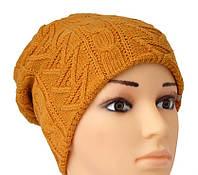 Модная шапочка в красивой цветовой гамме