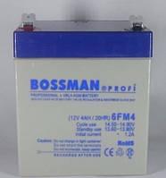 Свинцово-кислотный аккумулятор 6FM4 Bossman profi (12V4AH / 20HR). Аккумулятор Bossman 12V 4Ah