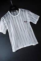 Подростковая футболка сетчатая