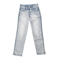 Детские однотонные джинсы для девочки